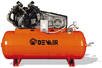 Description: DEVAIR Reciprocating Air Compressors